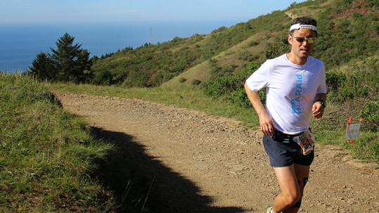HearAid Foundation volunteer Sonny Hong runs a preparatory run for his 100 Miles for Hearing run this summer