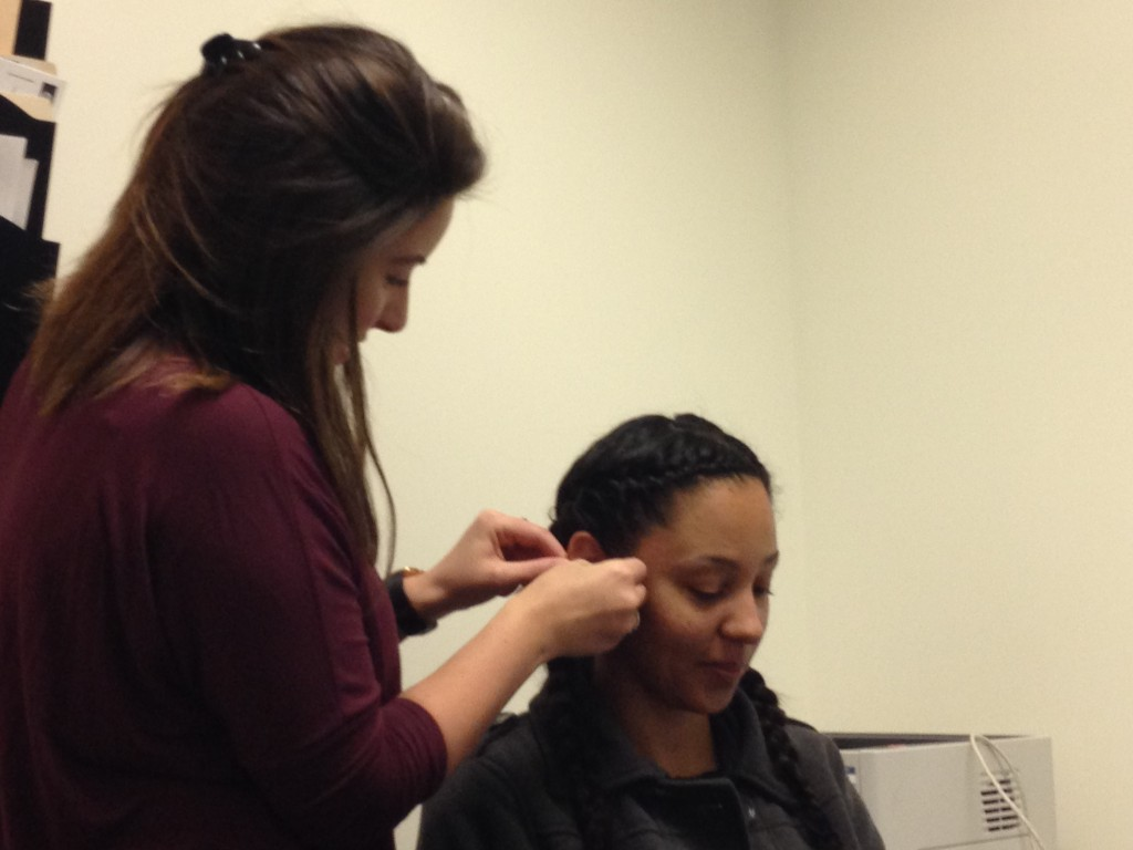 HearAid Foundation recipient Mercy gets fitted for her new hearing aids